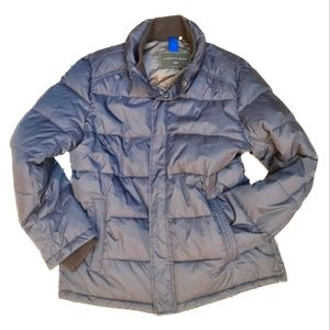 Marc Anthony Men's Navy Puffer Jacket    M